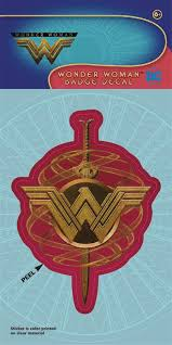 WONDER WOMAN MOVIE JUSTICE DECAL (C: 1-1-0)