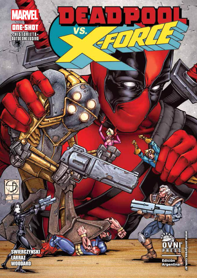LIBRO DEADPOOL VS X-FORCE